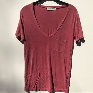 Project Social T by Urban Outfitters VNeck pocket